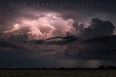 Monsters in the Night (Matt Granz Photography) Tags: supercell stormcloud clouds cloudy lightning lightening kansas weather sky skies chase chaser chasing nikond750 2470mm mattgranzphotography therebeastormabrewin