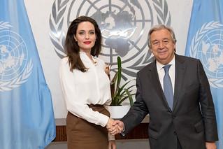Secretary-General Meets UNHCR Special Envoy