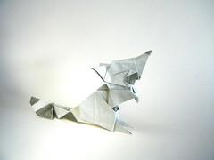 Raccoon- Katsuhisa Yamada (Rui.Roda) Tags: origami papiroflexia papierfalten guaxinim mapache raton laveur raccoon katsuhisa yamada