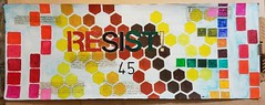 """""""Resist 45"""" (PreZen) Tags: paint tat colorlove resist art"""