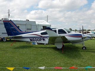N600PM Beech 95-B55 Baron