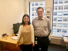With Dr. Harry Patrinos, the Practice Manager at the World Bank