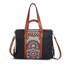 ca0a533e7f5f Brenice Women Bohemian Handbag Vintage National Floral Shoulder Crossbody  Bag (1309306)  Banggood (