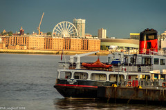 Ferry going cross the Mersey (Phil Longfoot Photography) Tags: mersey ferries ferry transport sunset rivermersey liverpool liverpoolphotography liverpoolwaterfront liverpoolphotograph liverpoolcityscape historic