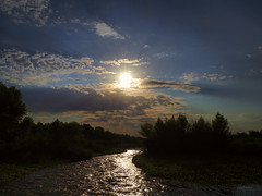 The  Riverwalk (VGPhotoz) Tags: vgphotoz riverwalk sun clouds sky sunrise water river arizona dysart nature freedom free naturephotography artphotography photography wildlife pano naturesc sunlight naturevista usa northamerica myplayground