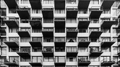 Palmas (Eugercios) Tags: viña del mar viñadelmar valparaiso chile vregion arquitectura architecture arte art balcon fachada façade façada building modern moderno moderna southamerica sudamerica bnw bw blanco branco black white preto negro bn
