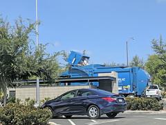 Republic Services Truck 9-3-18 (2) (Photo Nut 2011) Tags: california sandiego sanitation wastedisposal garbage trash garbagetruck trashtruck refuse junk waste truck republicservices