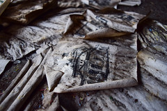 (jna.rose) Tags: abandoned factory urbandecay urbex abandonedfactory abandonedbuilding abandonedplaces abandon derelict dirty paper old buiding photo picture plate cover transfer nikon d5300 photography urbanexploration