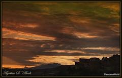 Tramonto di Settembre - 2018 (agostinodascoli) Tags: tramonto paesaggio nikon nikkor cianciana sicilia agostinodascoli texture sunset paesaggi landscape cielo turismo nature