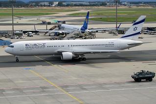 4X-EAK El Al Israel Airlines Boeing 767-300ER Frankfurt