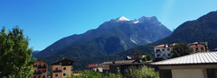 Cialauz/Calalzo di Cadore (Eternally Forgotten) Tags: veneto italy italia italien italian province belluno cadore historic historical area calalzodicadore cialauz mountains alps dolomites village town hamlet peak crest buildings roof crystalline clear sky skies houses land landscape horizon august summer beautiful charming location ladin trilingual culture wonder treasure journey travel tourism trip discovery voyage adventure exploring hiking wandering magic spell enchanting memories recollections lovely dreams melancholy yearning nostalgia borderland forests endless eternity unbroken timeless