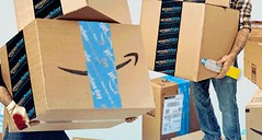 Fear, Intimidation And Wage Theft: Amazon Delivery Drivers Suffer 'Inhumane' Working Conditions (smctweeter) Tags: against as back crushing demands foods push their whole workers