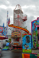 Charlie Manson's favourite ride : Explored (cmw_1965) Tags: helter skelter fair fairground funfair fun ride neath great september 2018