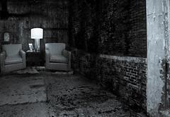 (chrishowardphotography.com) Tags: urbandecay urbanexplorationphotography compositephotography theartofphotography 67camaro ironmancamaro starkstate 56fordfairlane fordfairlane