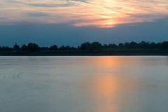 Sonnenuntergang in Monheim IV (KL57Foto) Tags: monheim am rhein 2018 fluss germany gewässer kl57foto landschaften nrw natur nordrheinwestfalen omdem1 olympus rhine river september sommer strom summer sonnenuntergang sunset