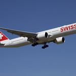 Swiss Boeing 777-300ER; HB-JNH@ZRH;12.08.2018 thumbnail