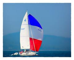 UBUNTU (Timothy Valentine) Tags: 2018 spinnaker 0818 hct vacation fbpost ocean penobscotbay sky redwhiteblue sailboat maine unitedstates us