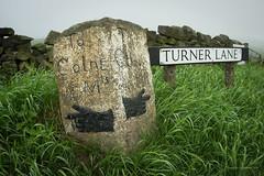Mesolithic directions (AJ Mitchell) Tags: bourne bournestone colne otley ilkley moor yorkshire lancashire directions pointing turnerlane takumar takumar1417 m42