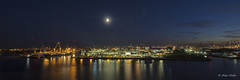 Hamburger Hafen - 17091802 (Klaus Kehrls) Tags: hamburg hamburgerhafen panorama nachtaufnahme elbe schiffe lichter
