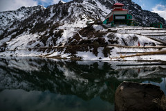 Tsomgo lake (moidmw) Tags: nature landscape incredibleindia travelling travellog sikkim landscapephotography travelphotography nikon