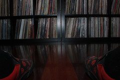What to listen to? (therealdavidjones) Tags: pov pointofview vinyl records collection decision