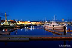 20180919-07-Blue mirror (Roger T Wong) Tags: 2018 australia hobart rogertwong sel24105g sony24105 sonya7iii sonyalpha7iii sonyfe24105mmf4goss sonyilce7m3 tasmania bluehour boats night reflection waterfront