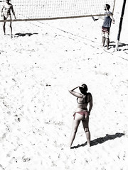 ...     ... (Lanpernas .) Tags: partido volley voley playa beach hexadecimal zurriola donostia mujer bakkushan sansebastian 2018 femme sportwoman