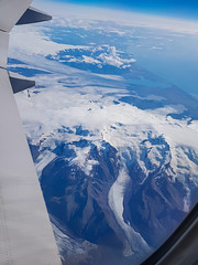 Hawaï (Comète78) Tags: usa voyage vol avion vue aérienne lufthansa united plane aircraft hawai honeymoon 2018 travel voyage2018 volcan crater cratère lake neige aile rainier glacier
