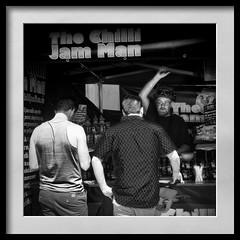 chilli jam man (Mallybee) Tags: f28 1235mm men mirrorless m43 blackwhite bw g9 dcg9 lumix panasonic chilli jam man