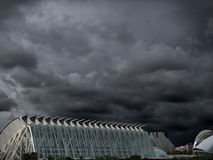 Storm is coming (Vorete) Tags: ifttt 500px storm clouds tormenta nubes valencia ciutat de les arts ciencies iosphoto enlightapp museo príncipe felipe
