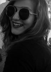 Black and White Sunglasses (SuranjanDasIndia) Tags: bw blackandwhite canon 800d sunglasses woman suranjandas portrait india rajasthan