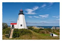 Plymouth Light Station (Timothy Valentine) Tags: lighthouse ocean large 0918 clichésaturday sky 2018 gurnetpoint plymouth massachusetts unitedstates us