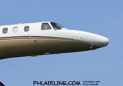 Somebody's Watching Me (PHLAIRLINE.COM) Tags: philadelphiainternationalairport kphl phl bizjet spotting spotter airline generalaviation planes flight airlines philly
