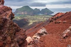 View from the top of Eldfell volcano crater Vestmannaeyjar, Iceland (Sascha Selli) Tags: leicam10 leica trielmar283550mmf4e55 iceland island eldfell vulkan vulcano krater crater westmännerinseln westmanislands vestmannaeyjar heimaey