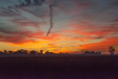 Painted Sky (KeysPlayer56) Tags: sunrise elgincounty on sky light landscapesdawn daybreak