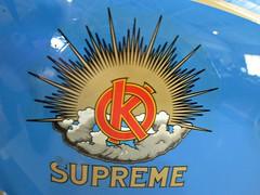 657 OK Supreme Badge - History (robertknight16) Tags: ok oksupreme british motorbike motorcycle bike dawes humphries badge badges automobilia brooklands