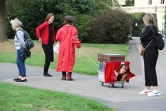 Regent's Park (ec1jack) Tags: kierankelly canoneos600d ec1jack regentspark london england britain uk europe camden august 2018 park summer woman catbox carry box cat