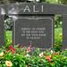 Muhammad Ali's gravesite