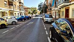 🇪🇸 Calle Constitución. TORRENT (José Hijano Comino) Tags: movilacert04 valencia ciudades torrent verano ©josehico calle coche street flickr españa es