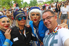 31/52 Safe Flight Happy Pride (Meteorry) Tags: europe nederland netherlands holland paysbas noordholland amsterdam centrum centre center prinsengracht amsterdampride gaypride pride gay canal gracht parade party fun happy lgbti lgbt fiesta fête freedom august 2018 meteorry paulenpaul paulmacfarlane pauldegroot dianadejongsmit captainkirk biancabotox marijkegrootgeschapen klm crew crowd reguliersgracht nike disney blue bleu danielbalavoine laziza sunglasses 52weeks 52semaines me moi perrytak selfportrait autoportrait selfie man homme guy male
