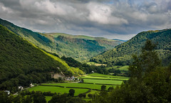 "Storm clouds over the Rheidol Valley (c.richard) Tags: rheidolvalley ceredigion devil'sbridge"" aberystwyth landscape pontarfynach westwales"