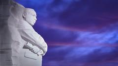 MLK Blues (Jarrod Bruner) Tags: mlk mlkmemorial martinlutherking martinlutherkingmemorial drmartinlutherking memorial monument dc washington washingtondc national mall nationalmall tidalbasin bluehour