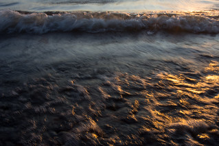 Sunset waves and golden coast - Lake Päijänne