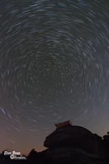 Startrails (Elena Bouza Pena) Tags: barcos trazas estrellas nocturnas galicia startrails cielo estelas