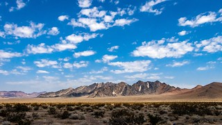 The Escort Hills in 110 Degree Heat