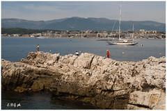 (dliuk86) Tags: sea nature landscape costa costaazzurra cotedazur barche mare natura rocks rocce