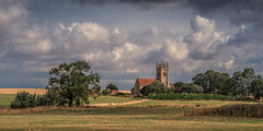 Rural Church (aj_nicolson) Tags: 11thcentury lincolnshire sempringham abbey church clouds england landsacape landscape rural sempringhamabbey standrews trees uk appicoftheweek
