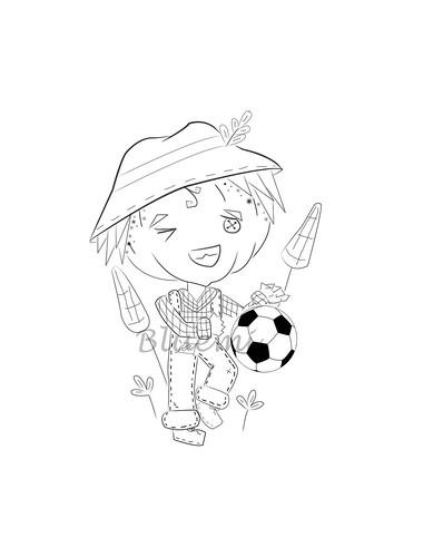 futbolista dibujo