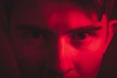 253/365 - Seeing Red (Forty-9) Tags: selfportrait selfie eyes red seeingred monday photoaday september 10thseptember2018 10092018 day253 253365 project3652018 3652018 2018 365 project365 flash studio strobism strobist softbox photr yongnuospeedliteyn560iv yongnuo forty9 tomoskay lightroom efs1785mmf456isusm efslens eos60d canon
