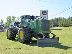 John Deere 848L Grapple Skidder (Gerald (Wayne) Prout) Tags: johndeere848lgrappleskidder johndeere 848l grapple skidder nortraxjohndeere nortrax dealership highway101west mountjoytownship cityoftimmins northeasternontario northernontario ontario canada prout geraldwayneprout canon canonpowershotsx60hs powershot sx60 hs digital camera photographed photography display vehicle machine equipment forestry logging highway101 highway 101 mountjoy township city timmins northeastern northern riversidedrive